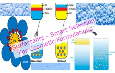 Surfactants Smart Selection For Your Cosmetic Formulations & Best Practices